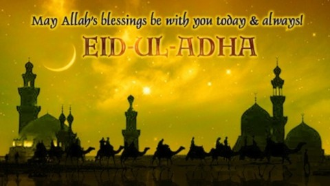 Happy Bakra Eid Festival 2014 HD Wallpapers, Images, Wishes For Pinterest