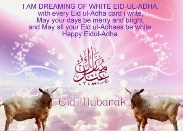 Happy Baqr'Eid 2014 HD Wallpapers, Images, Wishes For Pinterest