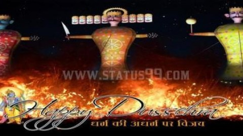 Durga Puja 2014 Facebook Greetings, WhatsApp HD Images, Wallpapers