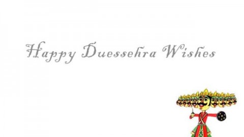 Happy Dussehra Celebrations 2014 Advance Wishes, SMS, Messages For Twitter