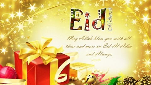 Happy Advance Bakrid 2014 HD Images, Wallpapers For Whatsapp, Facebook