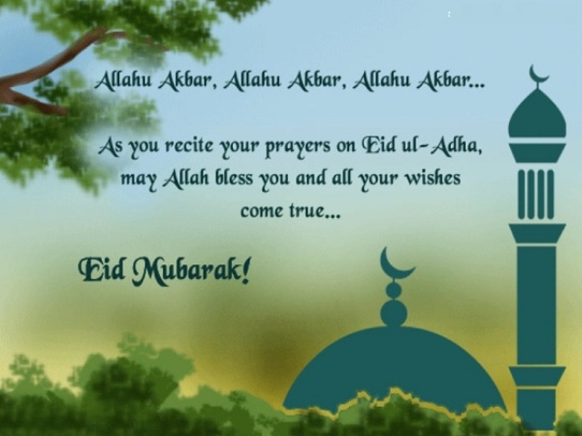 Happy Eid-ul-adha (Bakra Eid) 2014 HD Wallpapers, Images, Wishes For Pinterest