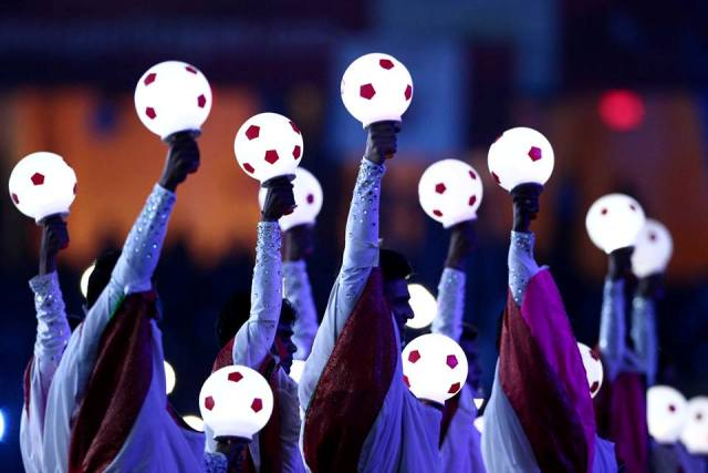 #LetsFootball Opening Ceremony 2014 HD Wallpapers for Twitter