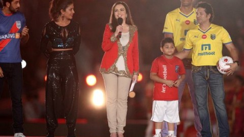 #LetsFootball Opening Ceremony 2014 Images, Pictures, Photos for Facebook