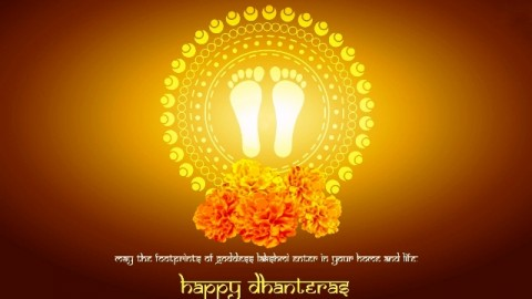 Happy Dhanteras / Dhantrayodashi 2014 HD Wallpapers Free Download
