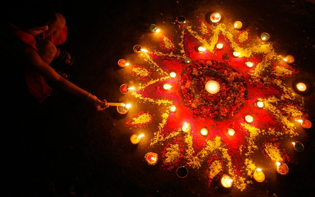 Happy Diwali!!! - Mumbai
