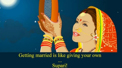 Karwa Chauth Mobile SMS in Hindi, English To Share On WhatsApp, Facebook