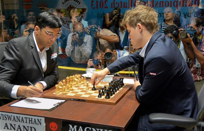 10 Amazing #CarlsenAnand Tweets, Status Trending on Twitter