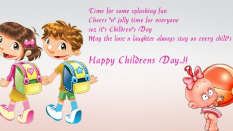 Children's Day 2014 Facebook Photos, WhatsApp Images, HD Wallpapers, Pictures