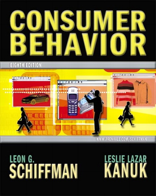 What is Schiffman & Kanuk's model of consumer decision-making?