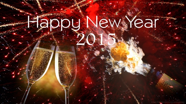 Happy New Year's Eve 2015 WhatsApp Display Pictures, Facebook Photos Free Download