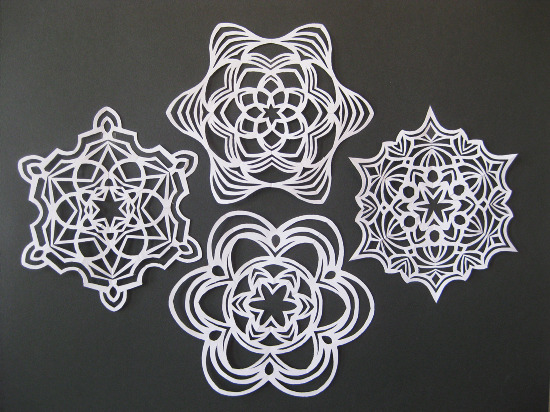 Make Cut Out Snowflakes Day  (4)