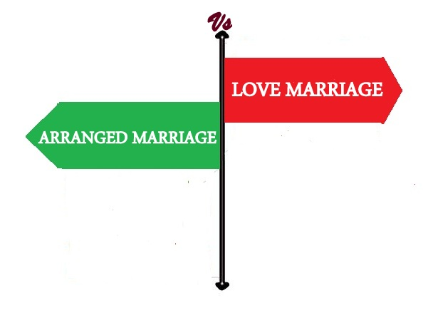 arranged marriage vs love