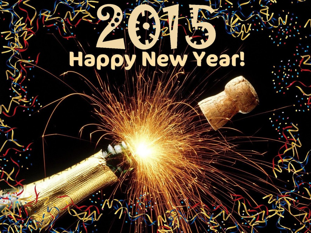 Top 10 English SMS And Wallpapers of Happy New Year 2015
