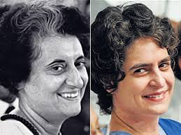 Similarities between Indira Gandhi and Priyanka Gandhi