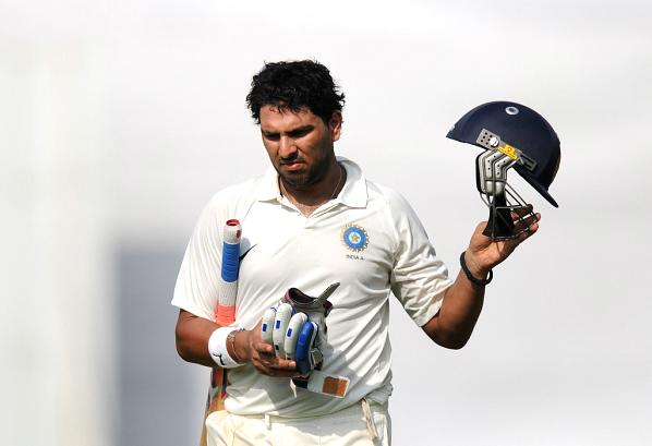 Out-Of-Form Yuvraj Hits Third Consecutive Century
