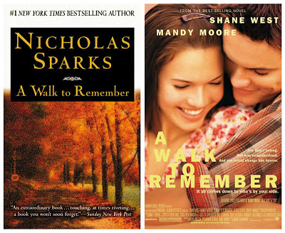 Book & Movie Review : A Walk to Remember