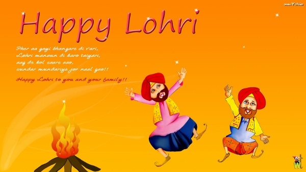 Happy Lohri 2015 Images  (43)