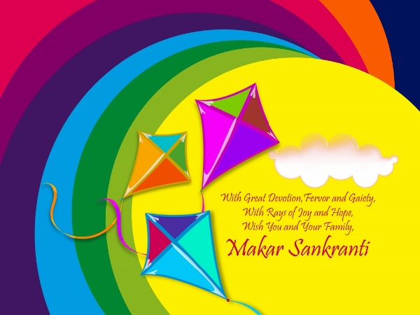Happy Makar Sankranti Images 2015, SMS, Wishes, Greetings For Twitter