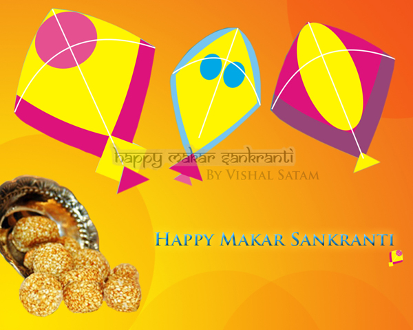 Happy Makar Sankranti 2015 Wallpapers  (1)