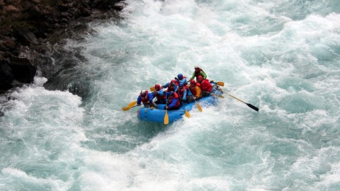 My Experience Of Extreme Sports : River Rafting