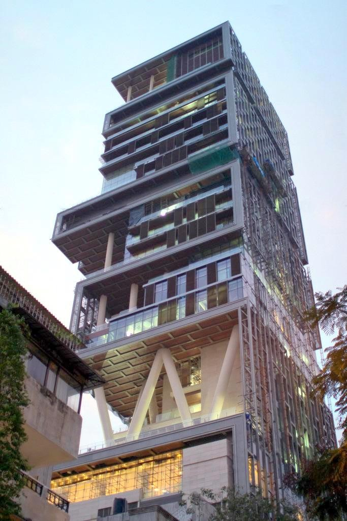 12 Interesting Things You Didn't Know About The Richest Indian Mukesh Ambani's House
