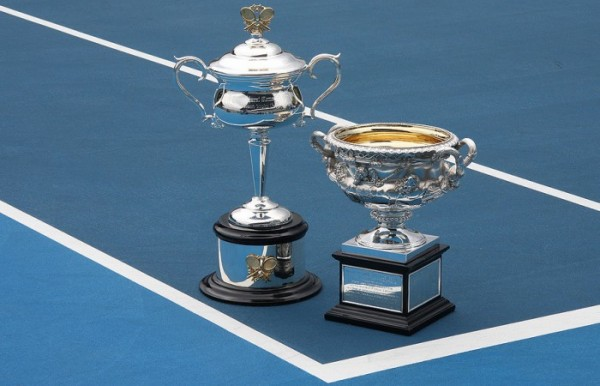 Norman Brookes Challenge Cup (men's trophy) and the Daphne Akhurst Memorial Cup (women's trophy)