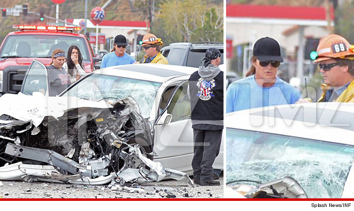 Bruce Jenner In A Car Crash - One Person Dead