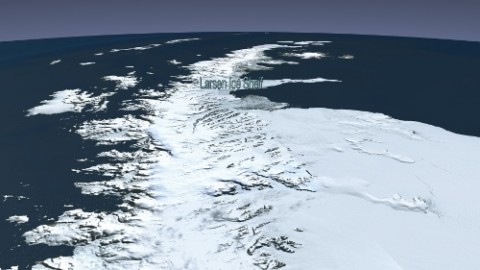 Top 5 Amazing 'Larsen Ice Shelf' Images, Photos, Wallpapers For Facebook, WhatsApp