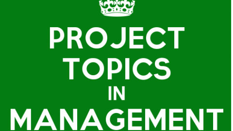 Complete List of 200 Marks TYBMS Project Topics in Management Accounting