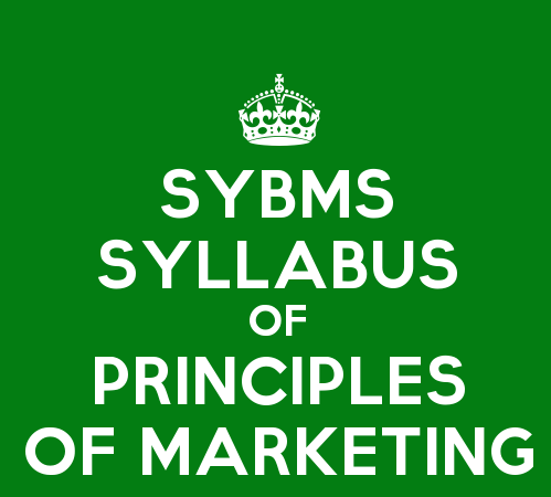 SYBMS Sem 3 Syllabus: Principles of Marketing