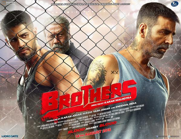 First Poster of 'Brothers'