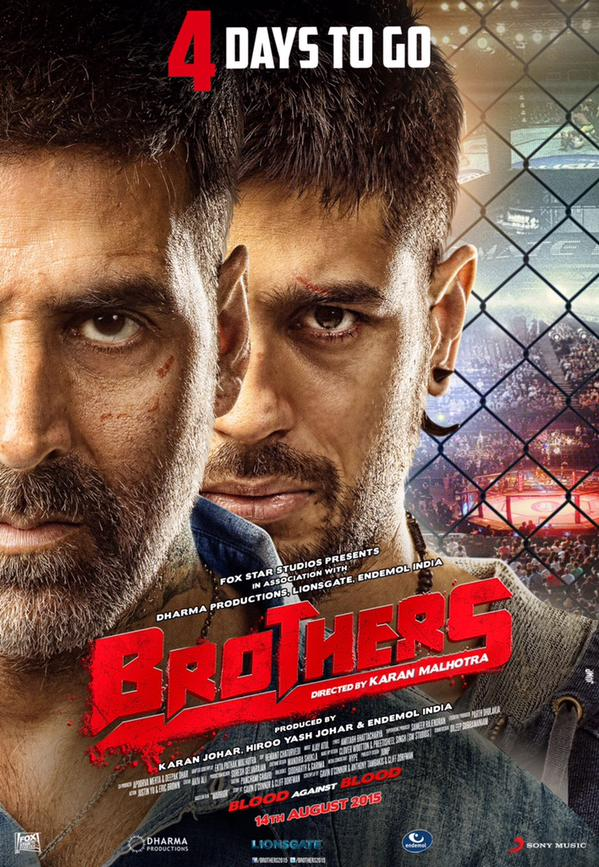 Second Poster of 'Brothers'