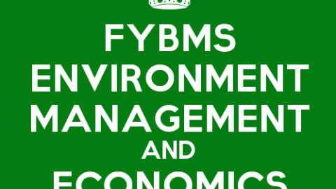 FYBMS Environmental Management & Economics Sem 1 Syllabus: Principles of Management