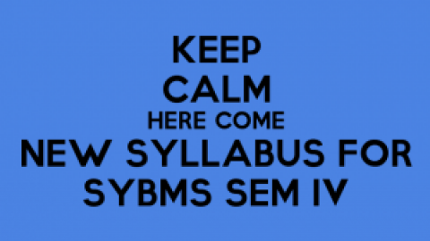 NEW SYLLABUS for SYBMS Sem IV