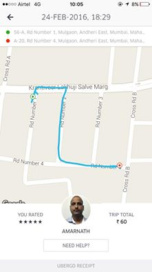 How this Uber Driver Exemplified the Spirit Of Mumbai